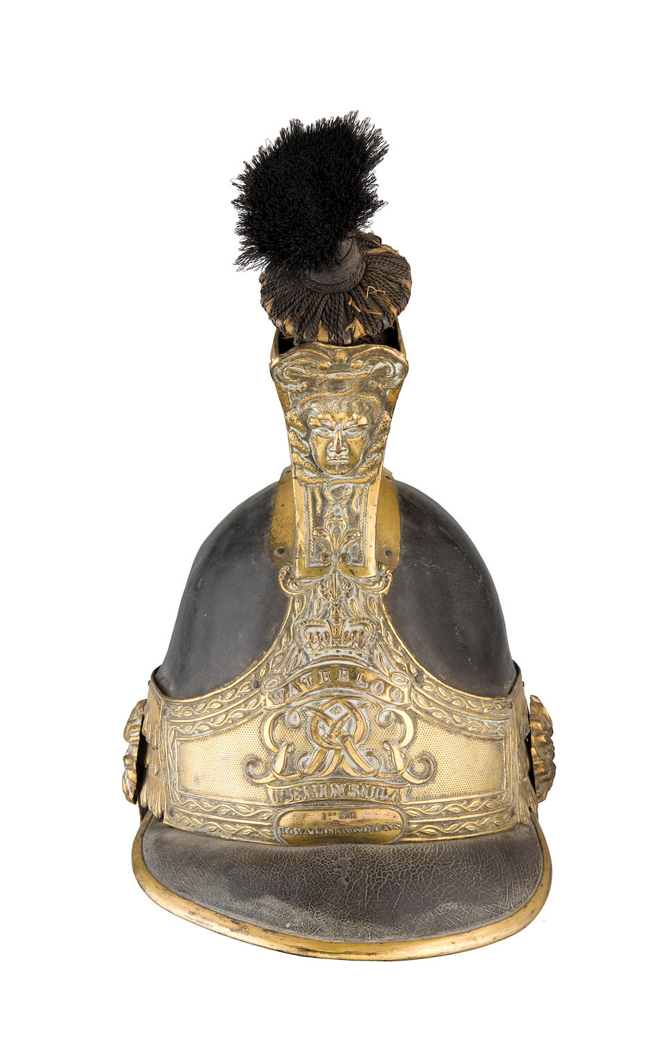An Extremely Rare Officer's 1812-18 Pattern Helmet Of The 1st. Royal Dragoons