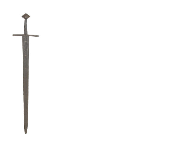 A Rare Sword Of Viking Type, Oakeshott's Type XI