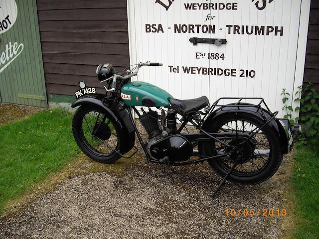 1927 BSA 500cc