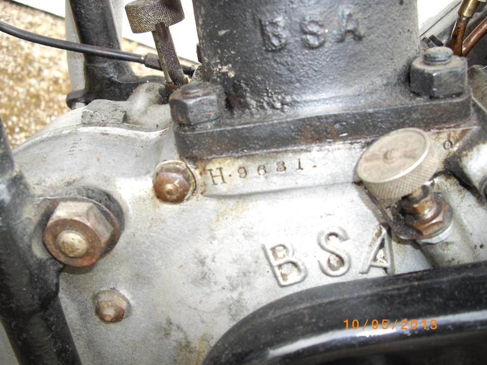 c.1928 BSA 557cc 'Sloper' Engine no. H.9681