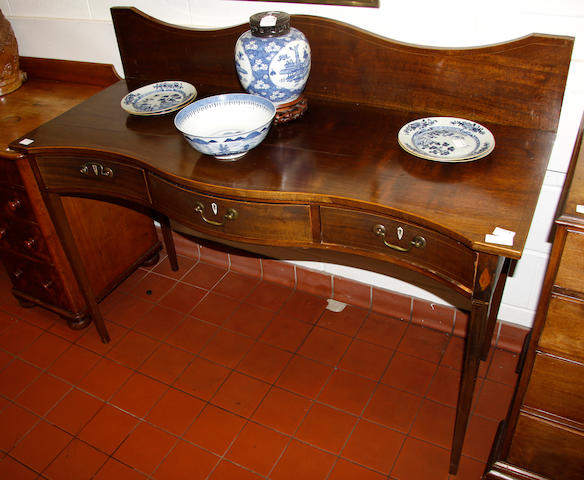 A 19th Century mahogany side or serving table