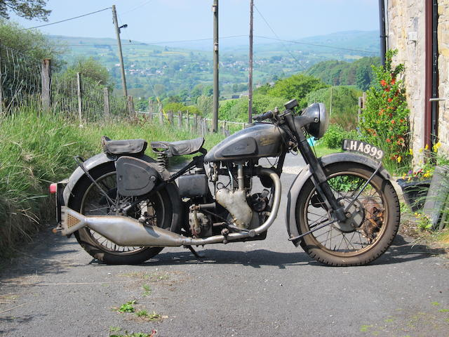 Property of a deceased's estate,1950 Velocette 349cc MAC Engine no. MAC 16225