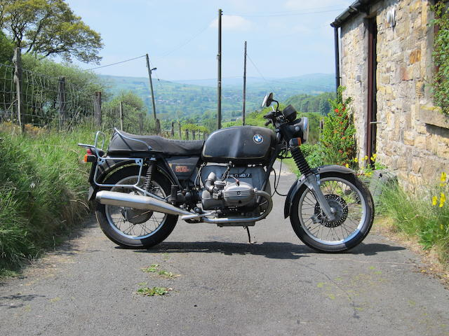 Property of a deceased's estate,1978 BMW 798cc R80/7 Frame no. 6026204 Engine no. 6026204