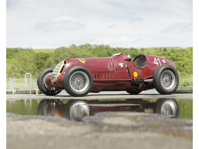 The Ex-Scuderia Ferrari, Hans Ruesch, Dick Seaman, Dennis Poore Donington Grand Prix and RAC Hill-Climb Championship-winning,1935-36 ALFA ROMEO 8C-35 Grand Prix Racing Monoposto  Chassis no. 50013 Engine no. 50013