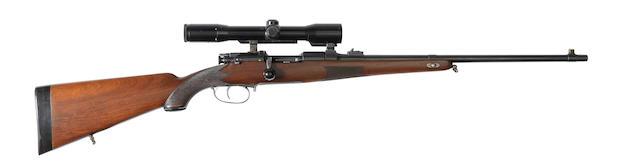 A 6.5x54mm 'M. 1900' Mannlicher Schöenauer sporting rifle by Steyr, no. 1949