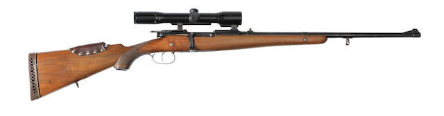 A 7x64mm 'Model 1950' Mannlicher Schöenauer sporting rifle by Steyr, no. 122