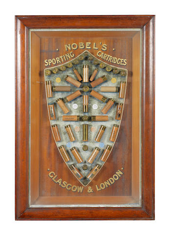 A Nobel Industries Ltd. cartridge-display board