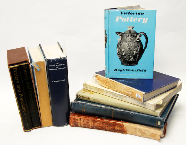 Ten books on British porcelain