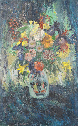 Mary Armour, RSA RSW (British, 1902-2000) Still life of Flowers in a Jug 81 x 51 cm. (31 7/8 x 20 1/16 in.)