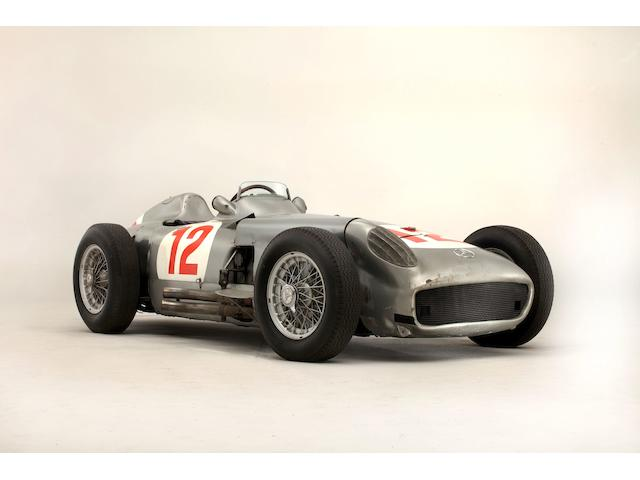 The Ex-Juan Manuel Fangio 1954 Mercedes-Benz W196R Formula 1 Racing Single-Seater