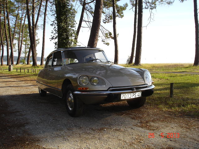 1973 Citroën DS23 Pallas Saloon  Chassis no. 00-FE-7394