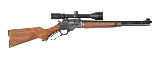 A .30-30 (Win) 'Model 336TS' lever-action rifle by Marlin Firearms Co., no. 16011688