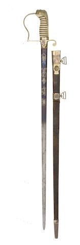 An 1805 Pattern Naval Officer's Sword