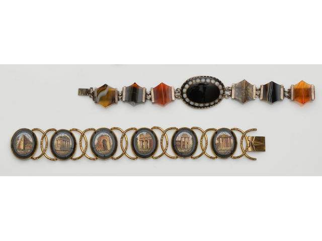 A collection of Victorian and later jewellery and costume jewellery
