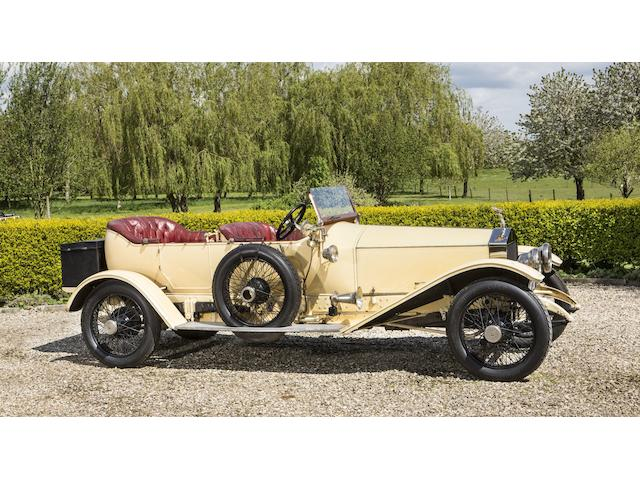 1913 Rolls-Royce 45/50hp 'Silver Ghost' London-to-Edinburgh Tourer