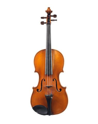 A Violin attributed to Antonio Monzino, Milan, 1915 (1)