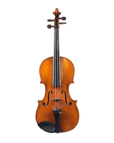 A Violin attributed to Antonio Monzino, Milan, 1915 (1)