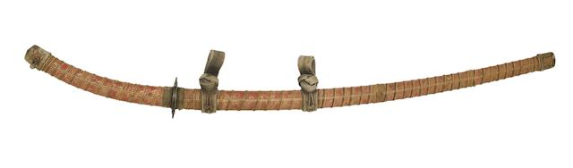 A Tachi In Archaic Style Koshirae