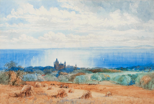 William Simpson (British, 1823-1899) Dunrobin Castle