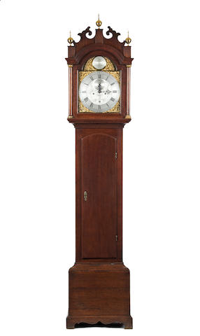 An 18th century oak cased 8 day long case clock James Viall Walsingham Norfolk(1760-1787)