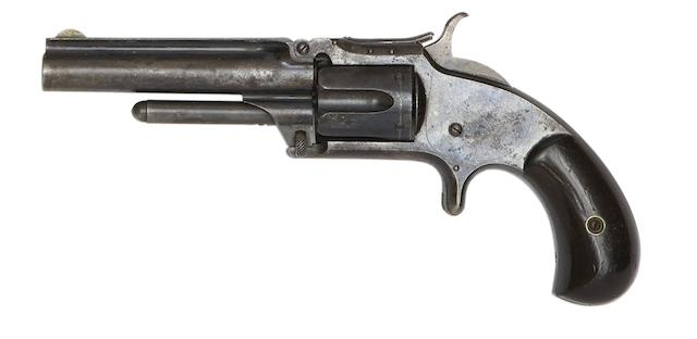 A Cased .32 Smith & Wesson Model No. 1½ Second Issue Five-Shot Rim-Fire Revolver