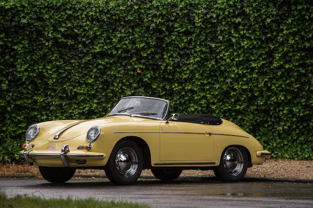 Original European delivery,1961 Porsche 356B 1600 'Roadster'  Chassis no. 088885 Engine no. 604614