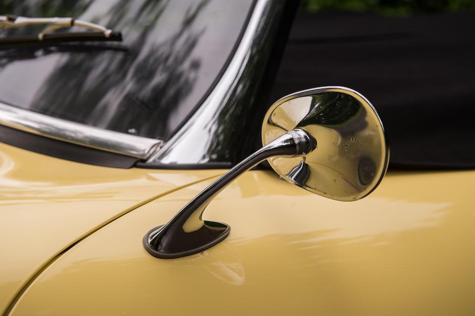 Original European delivery,1961 Porsche 356B 1600 'Roadster'  Chassis no. 088885 Engine no. 604614