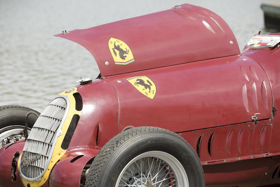 The Ex-Scuderia Ferrari, Hans Ruesch, Dick Seaman, Dennis Poore Donington Grand Prix and RAC Hill-Climb Championship-winning,1935-36 ALFA ROMEO 8C-35 Grand Prix Racing Monoposto  Chassis no. 50013 Engine no. 50013