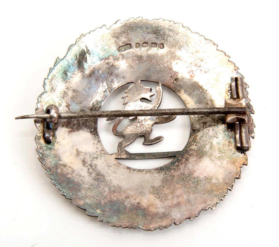 Liv On Fifth Birmingham Al: Bonhams : A Silver Plaid Brooch For The 5th (Perthshire