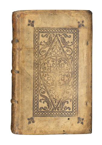 MORATA (OLYMPIA FULVIA) Orationes, Dialogi, Epistolae, Carmina, <font class=smallCaps-bok>first edition</font>, Basle, Peter Pema, 1562