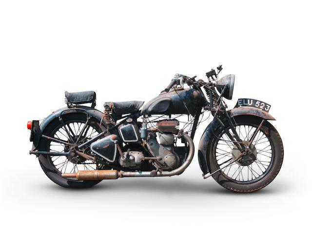 1938 Triumph 6S Combo