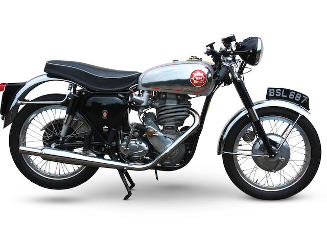 1959 BSA 499cc DBD34 Gold Star,