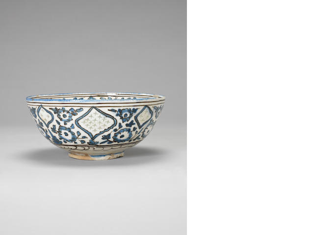 A Persian blue and white bowl Iran, probably 18th or 19th century