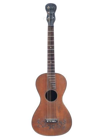 A Parlour Guitar circa 1825  (2)