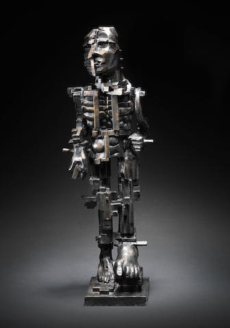 Sir Eduardo Paolozzi (British, 1924-2005) Vulcan (Study for Newcastle) 71.1 cm. (28 in.) high (including base)