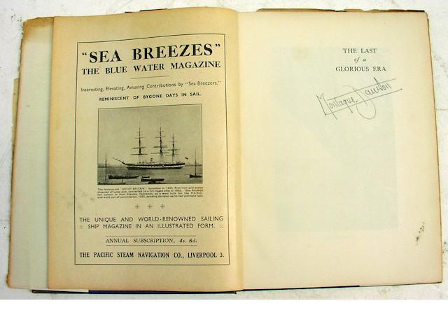 Montague Dawson: a collection of Marine books 22 volumes.
