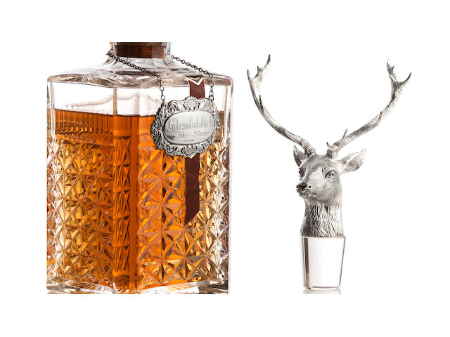 The Glenfiddch Stags Head Decanter