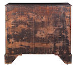 A George III mahogany chest possibly by Thomas Chippendale or Alexander Peter