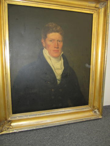 English School, 19th Century Portrait of a gentleman