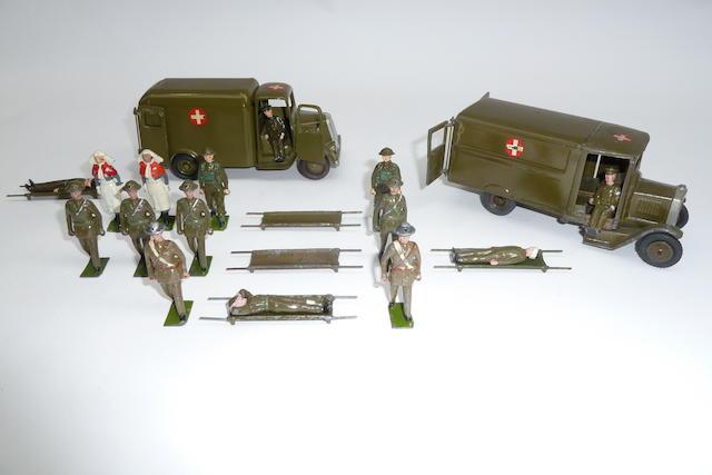 Britains set 1512, Army Motor Ambulance 22