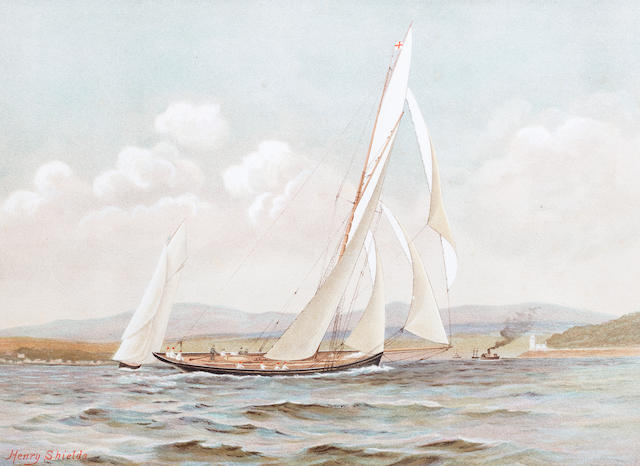 MEIKLE (JAMES) and HENRY SHIELDS Famous Clyde Yachts 1880-87 (1888)