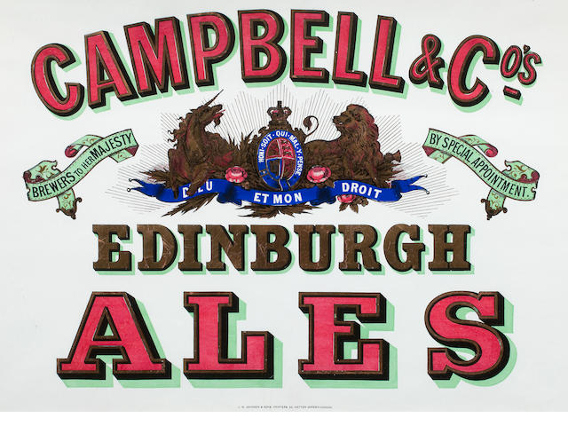 CAMPBELL'S ALES POSTERS, J. M. Johnson & Sons [c.1900] (3)