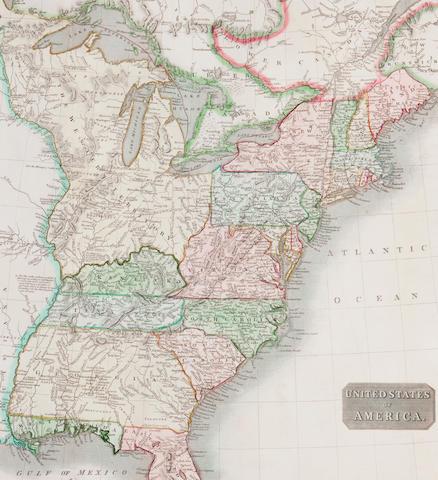 WORLD ATLAS THOMSON (JOHN) A New General Atlas, Edinburgh, John Thomson, 1817