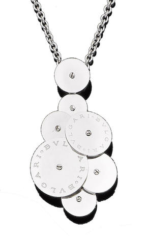 A 'Cicladi' pendant necklace, by Bulgari