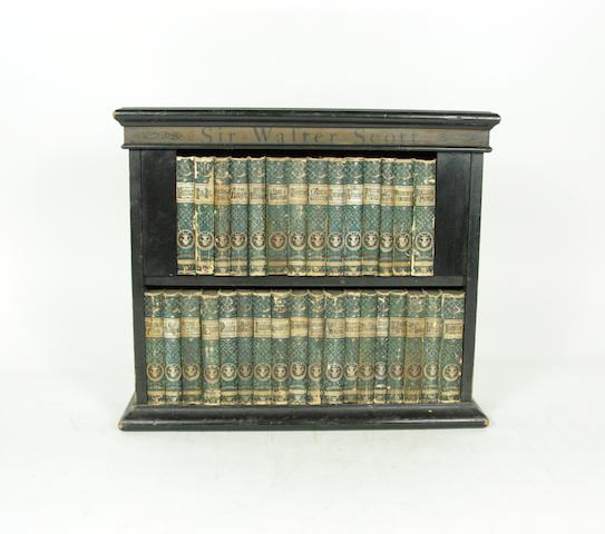 SCOTT (WALTER) Waverley Novels, 32 vol., contained in a miniature bookcase, [1876]