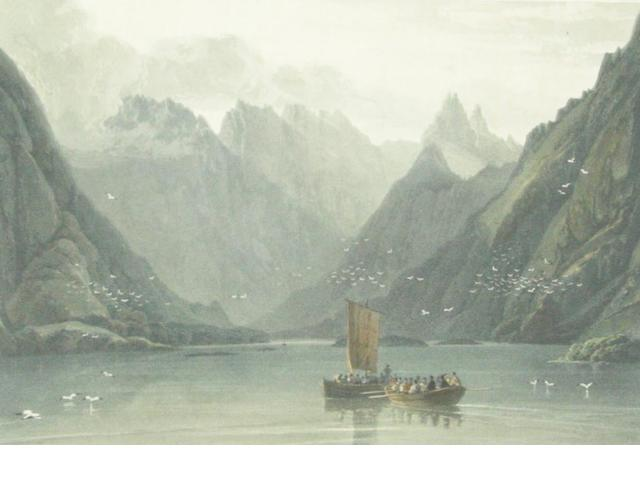 DANIELL (WILLIAM) 36 hand-coloured aquatint plates