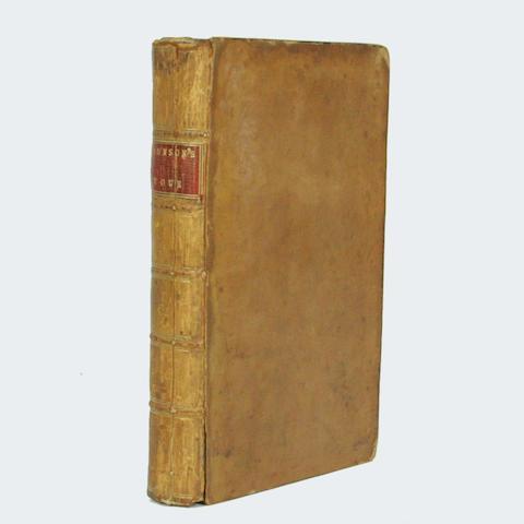 [JOHNSON (SAMUEL)] A Journey to the Western Islands of Scotland, 1775