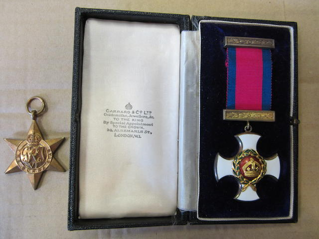A Second World War D.S.O. pair to Captain P.R.Cherrington, Northamptonshire Regiment,
