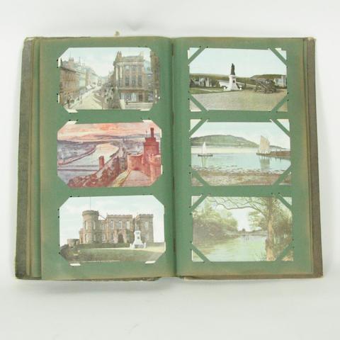 SCOTTISH POSTCARDS - 4 Albums