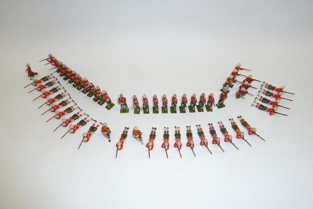 Britains Highlanders firing 54